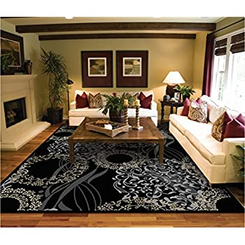 Amazon Com Luxutry Modern Rugs For Living Dining Room