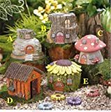 Cheap Grasslands Road Fairytale Garden Fairy House, One Individual, Random Choice