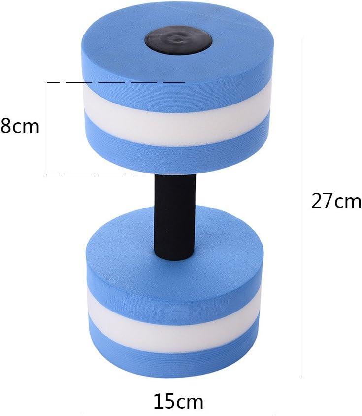 Ger/ät zum Abnehmen Wasser Fitness Aerobic Hantel f/ür das Wasser /EVA-Schaumstoff Hantel f/ür Yoga-/Übungen/
