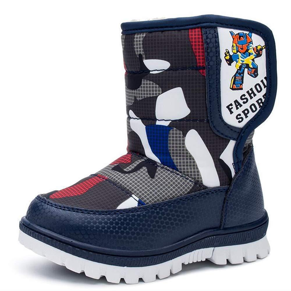 Zarachielly Boys Girls Toddler//Little Kids//Big Kids Frosty Winter Snow Boot