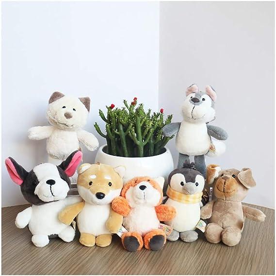 Juguete marioneta 7 Pack de animales de peluche, juguetes de ...