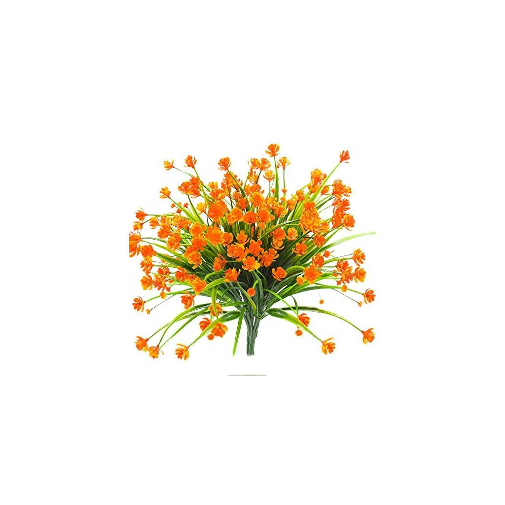 Artificial-Fake-Flowers-4-Bundles-Outdoor-UV-Resistant-Greenery-Shrubs-Plants-Indoor-Outside-Hanging-Planter-Home-Garden-Decor