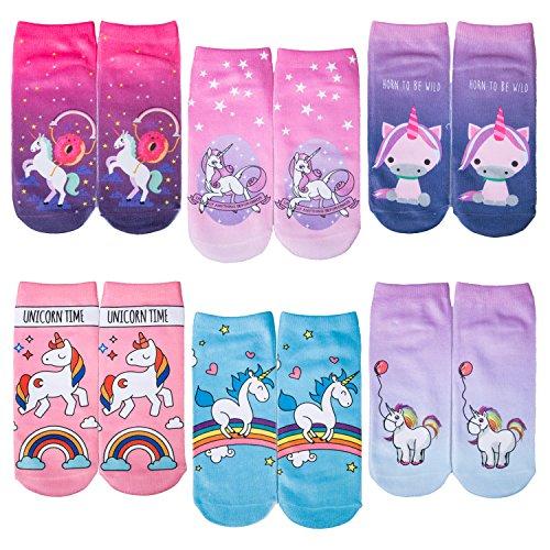 Wholesale 6 Pack of Girls 3D Funny Crazy Emoji Emoticons Novelty No Show Short Ankle Socks supplier