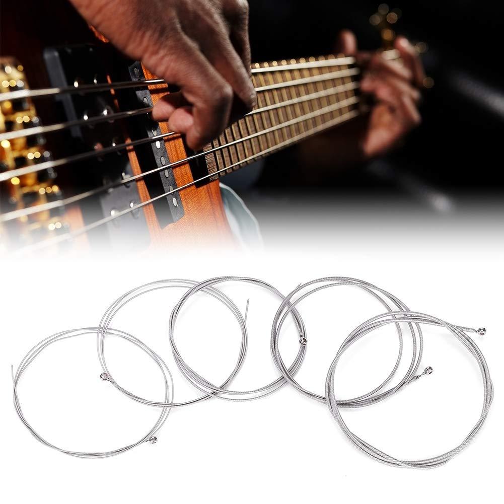 Cuerda de bajo eléctrica, aleación de níquel, bajo eléctrico, cuerda de tensión media, accesorio para guitarra, música, instrumental: Amazon.es: ...