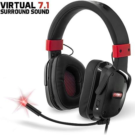 Empire Gaming H1300 - Casco para gamers PC sonido surround 7.1 ...