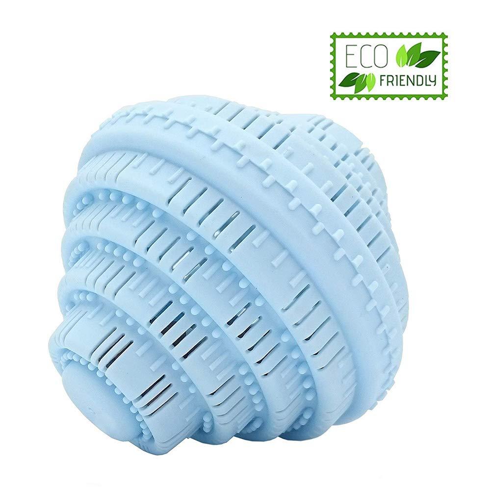 Yompz Boule de Lavage, Boule à linge, Anti-Poil Réutilisable pour Machine à Laver - 1000 Lessives Sans Détergent