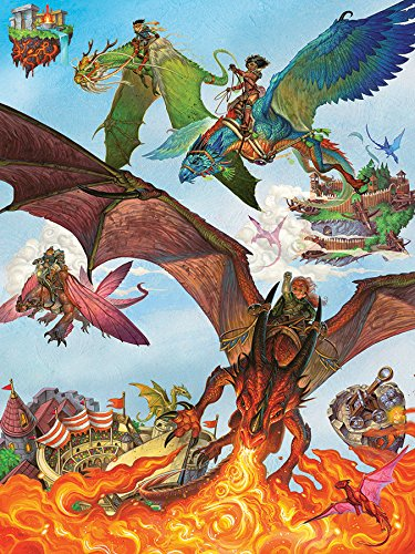 Cobble Hill Dragon Flight Fantasy Animated 400 Piece Jigsaw Puzzle (54593)