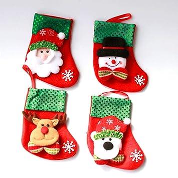 Christmas Stockings Decorations Socks Decor Classic
