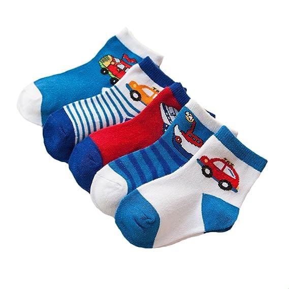 Tiger~Baby - Calcetines - para bebé niño azul azul