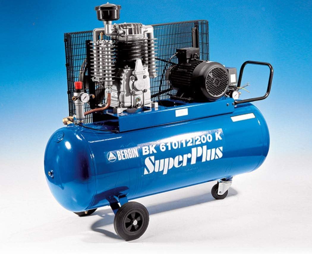 Bergin BK610/12/200 K Super Plus - Compresor (200 litros) Caldera de 4 kW.