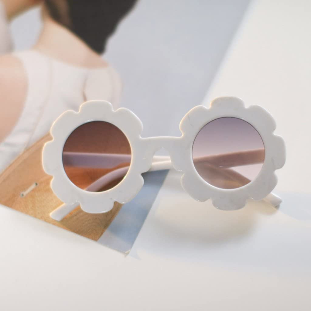 Pink frame, Black lens CMK Trendy Kids Cute Pentagon Sunglasses for Kids Girls and Boys in 6 Candy Colors