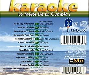 KBO-159 Lo Mejor De La Cumbia I(Karaoke)