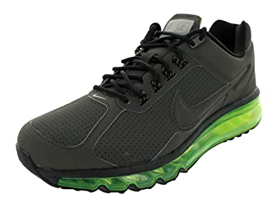 8e9fa7772666 NIKE Air Max 2013 Leather Mens Running Shoes 599455-007 New Sprint 8 M US