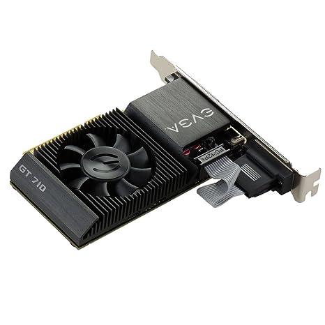 EVGA NVIDIA GT 710 LP DDR3, 64-bit 2 GB PCI-E Tarjeta gráfica ...