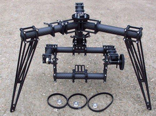 GOWE 3軸カメラジンバル、カメラマウント、安定化マウントMulticopter用、Octocoter   B00KJW0YCS