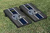 NFL Dallas Cowboys Onyx Stained Stripe Version Football Cornhole Game Set, 24'' x 48'', Multicolor