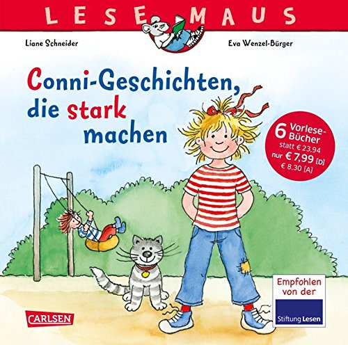 LESEMAUS Sonderbände: Conni-Geschichten, die stark machen: Sechs Vorlesegeschichten in einem Band