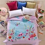 Auvoau Boho Style Bedspread Bohemian Bedding Girl Bedding Bedspread Boho Style Quilt (Queen, 4)