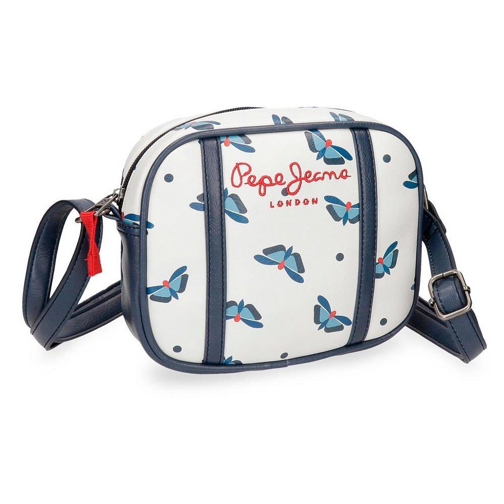 Pepe Jeans Feli White Shoulder Bag