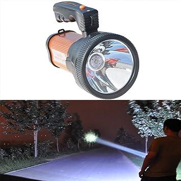 LED Proyector Recargable Portátil Portátil Foco Linterna de ...