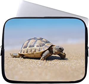 "Neafts Sea Turtles Beach Waterproof Neoprene Soft Sleeve Case for MacBook 12 Inch & MacBook Air 11.6 Inch and Laptop up to 12"" Ultrabook, Chromebook Bag Cover"