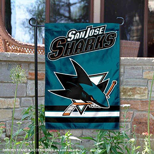 (Wincraft San Jose Sharks Double Sided Garden Flag)