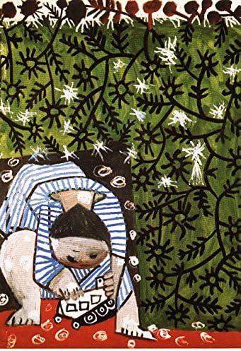 Ediciones Blok España Picasso Art Print Niño Jugando con camion New 31 x 44 cms: Amazon.es: Hogar