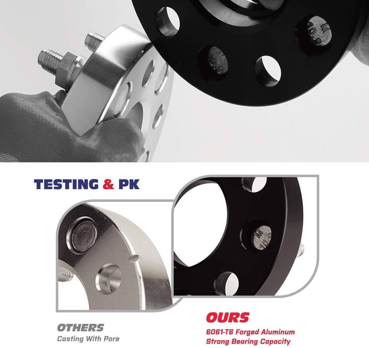 Separadores De Rueda Para Civic Mk7 Tipo R EP3 1 par 20mm Hubcentric Aleación 5x114.3 67.1