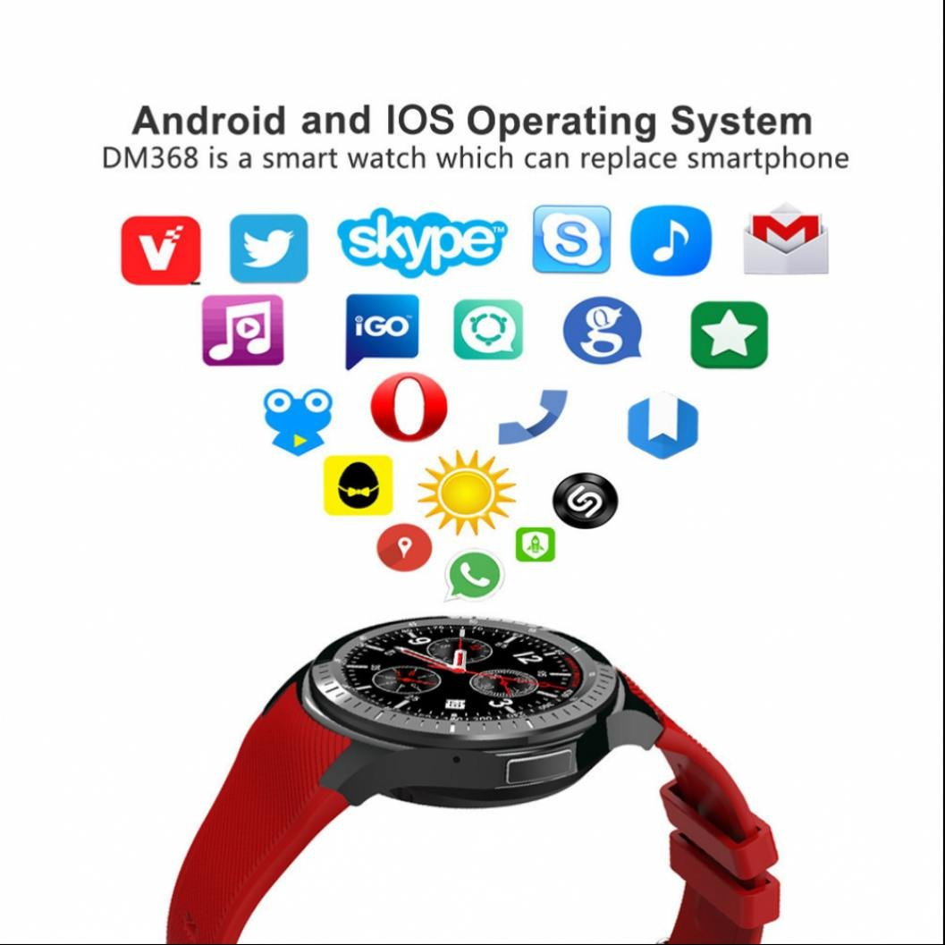 Reloj Intelligent Smart Watch Teléfono con Notificación de ...