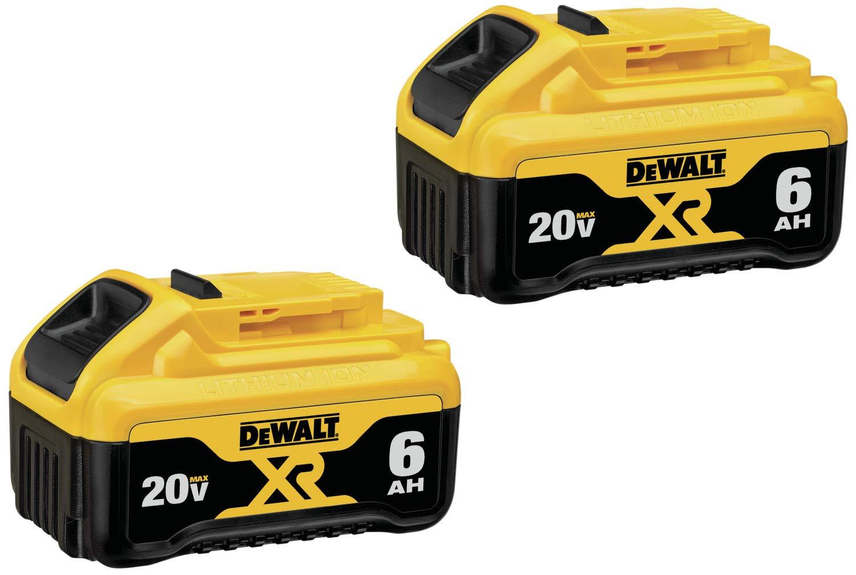 2 Baterias Originales DEWALT 20v 6.0ah DCB206