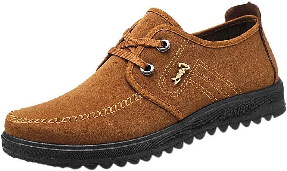 Alaso Homme Chaussures de Ville en su/éd/é Chaussures /à Lacets Homme Casual daffaires Oxford Penny Loafers Chaussures Bateau Souple Chaussons