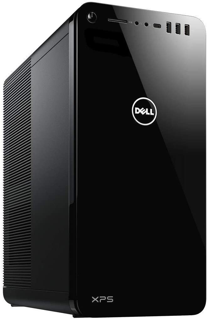 Dell XPS 8930 Tower Desktop i7-8700 6-Core up to 4.60 GHz, 16GB DDR4 Memory, 256GB SSD (Boot) + 2TB SATA Hard Drive,Radeon RX 580 Windows 10, Black