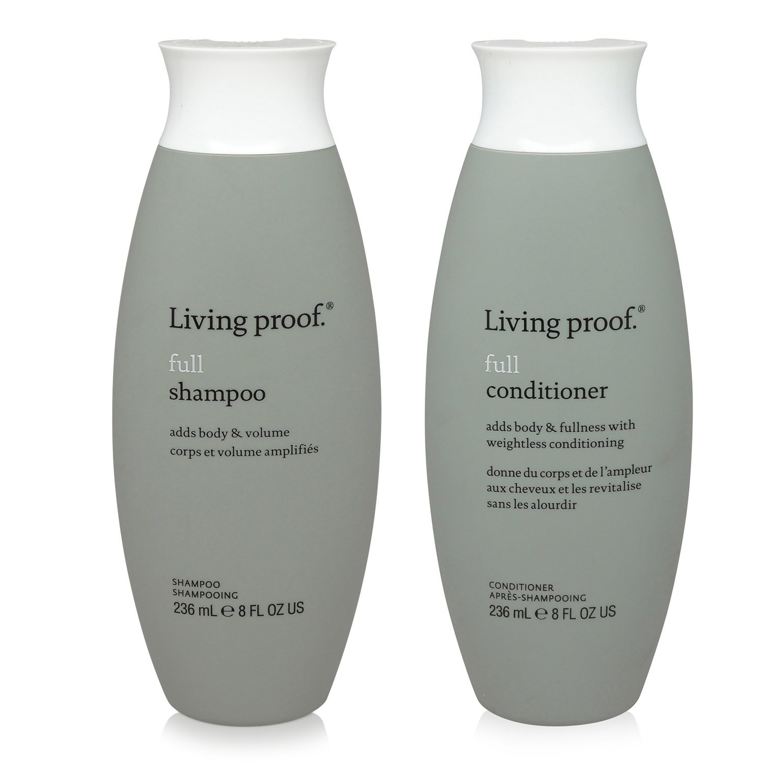 Living Proof, Full Conditioner and Full Shampoo, Two Bottle Set, 8 Oz Each Vidimear