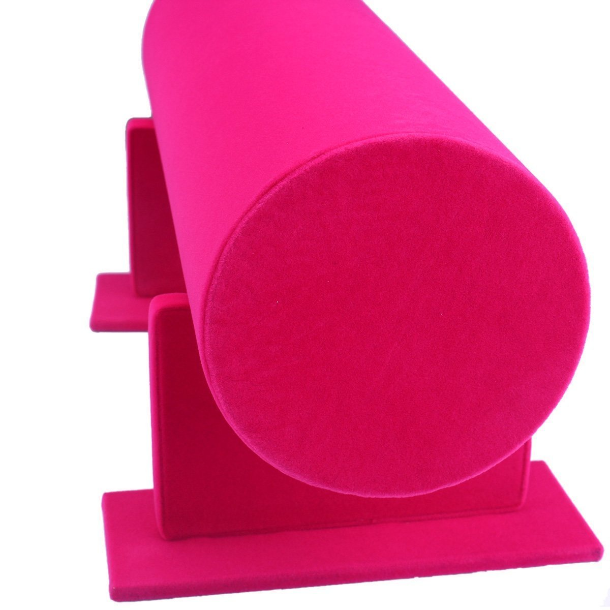 Funi Velvet Hairband Headband Holder Retail Shop Display Stand Rack Holder (14'', Pink) by Funi (Image #3)