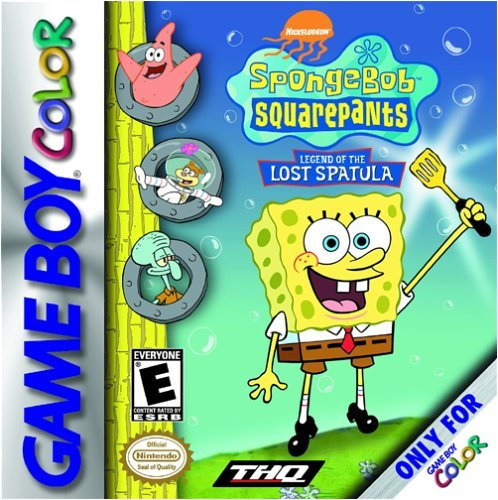 SpongeBob SquarePants Spatula game boy color