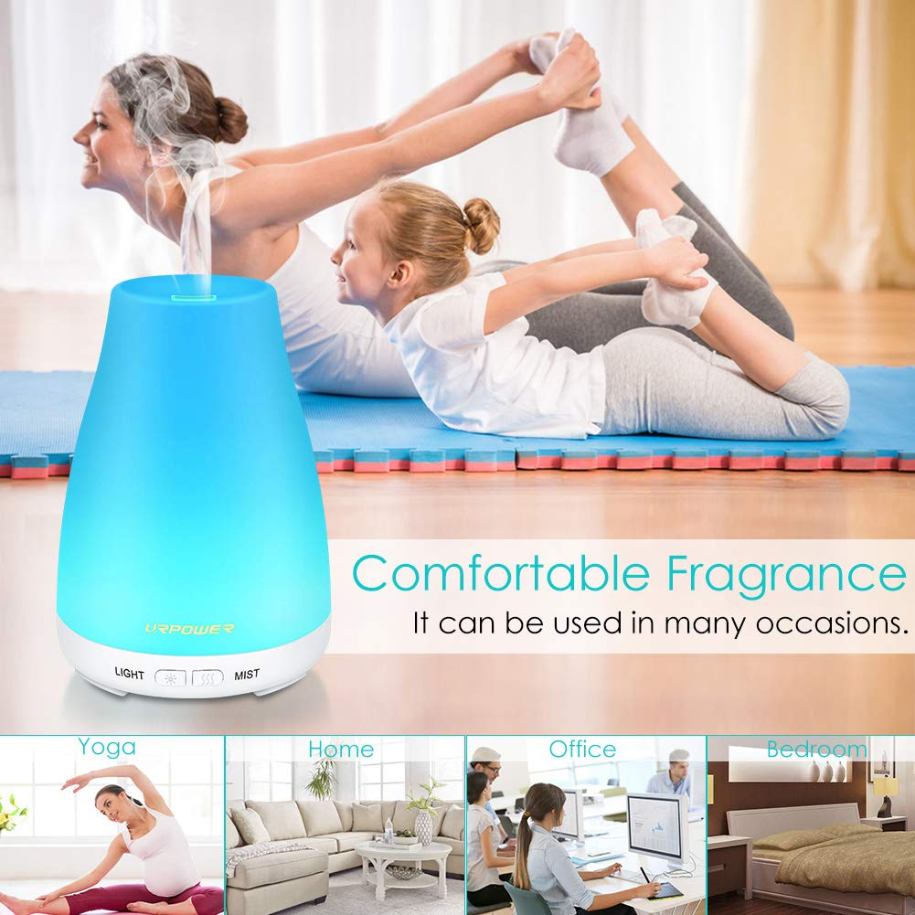 9. URPOWER Essential Oil Diffuser Humidifier