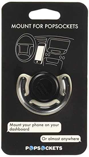 9ac3657ae2c Amazon.com  PopSockets  Mount for all PopSockets Grips - Black  Cell Phones    Accessories