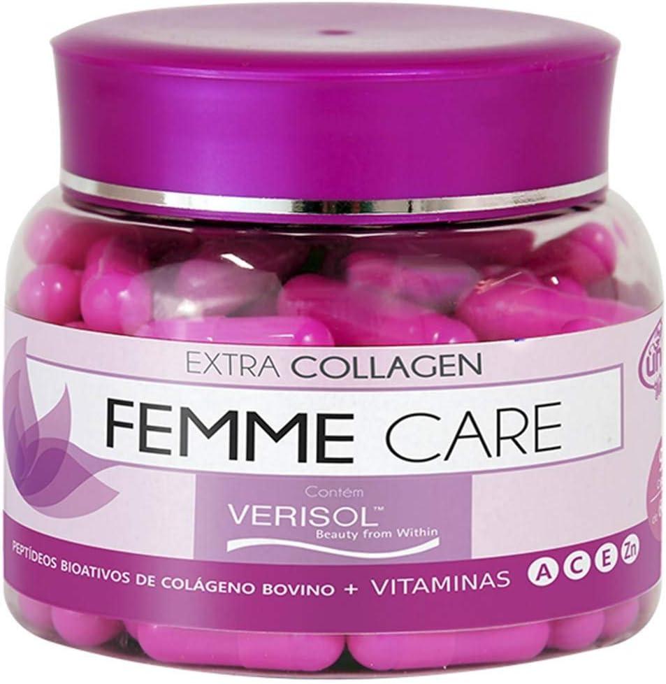 Femme Care Com Colágeno Verisol Unilife 90 Cápsulas De 600mg
