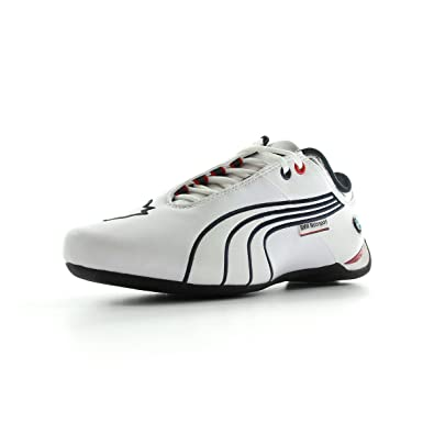 bf94e066088cc2 Puma Men s Future Cat M1 Big BMW NM White Leather Boat Shoes - 11 UK ...