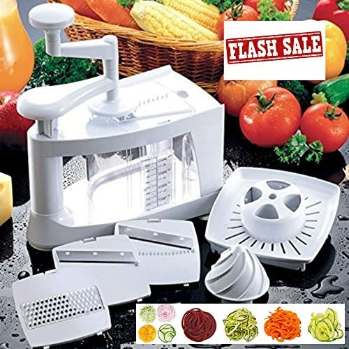 Spiralizer Vegetable Slicer Bundle Stainless Steel product image