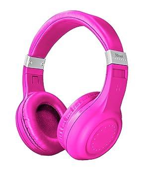 Trust Urban Dura - Auriculares inalámbricos con Tecnología Bluetooth, para Llamadas telefónicas y Música, Color Rosa: Amazon.es: Electrónica