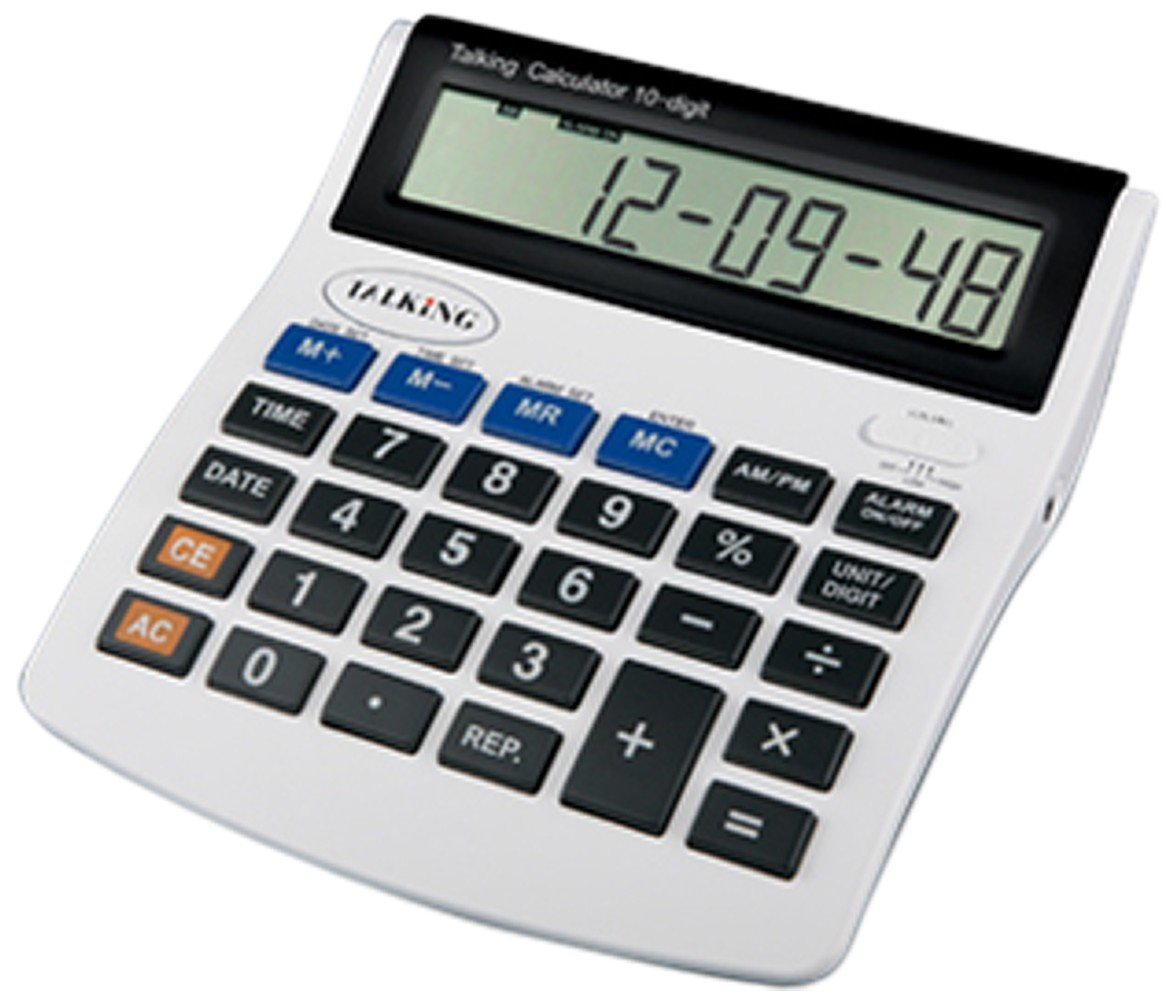 The Braille Store Deluxe Talking Calculator