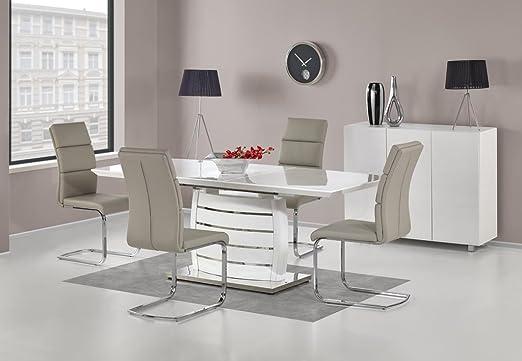 Comedor Mesa de Comedor Cocina Mesa Salón Mesa Extensible Onyx ...