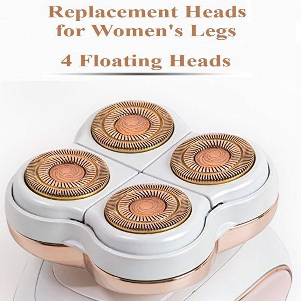 Replacement Blade Heads Legs Women Hair Remover, Hair Remover Replacement Head with a Bracket for Legs, Bikini, Arms, Ankles lynn_tribe