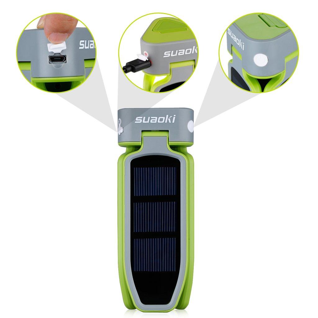 USB & Solar Rechargeable LED Lantern
