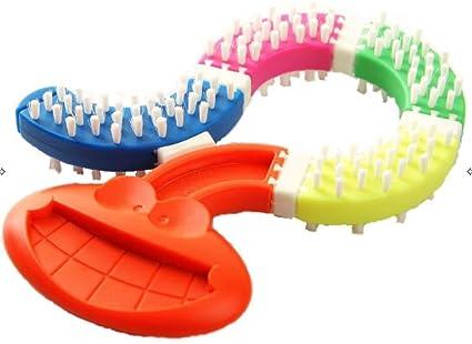 Cepillo de dientes de bebé para dentición, masticable, sin BPA ni silicona; de