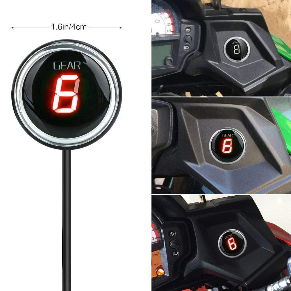 Motorcycle Gear Indicator for Kawasaki Versys 650 Versys 1000 2012 2013 2014 2015 2016 2017 Plug /& Play Blue