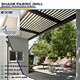 Windscreen4less Beige Sunblock Shade Cloth,95% UV