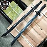 New 2 PC Large Full Tang 26'' Ninja Samurai Twin Tanto Blade Sword Machete Katana- Great For Fun And Practical Use