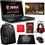 "MSI GS43VR PHANTOM PRO-069 (i7-7700HQ, 16GB RAM, 128GB SATA SSD + 1TB HDD, NVIDIA GTX 1060 6GB, 14"" Full HD, Windows 10) VR Ready Gaming Notebook"